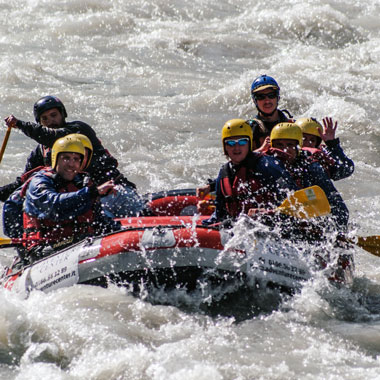 rafting classic aosta valley