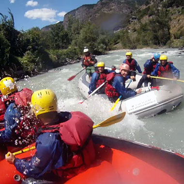 rafting special aosta valley